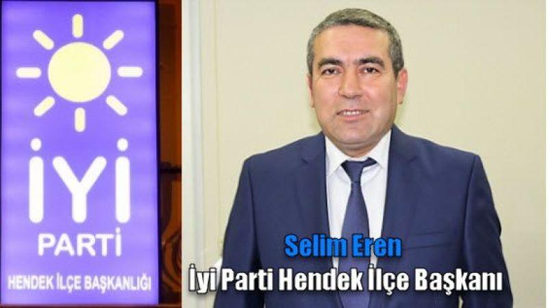 Hendek İyi Parti Tanıtım toplantısını yaptı -İZLEYİNİZ_