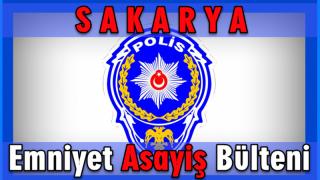 İl Emniyet Müdürlüğü  12-14 Ocak 2018 Asayiş Bülteni