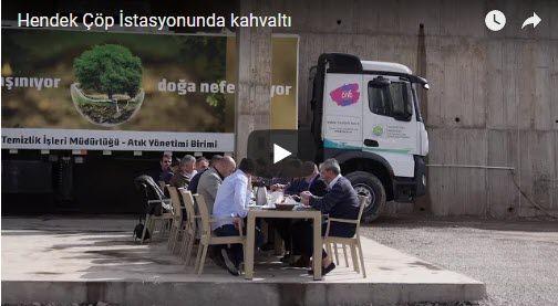 Hendek çöp istasyonunda kahvaltı (VİDEO)İzle